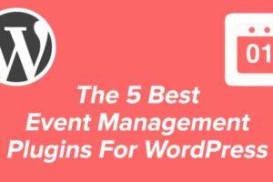 5 best event management plugins for WordPress