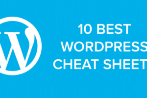 10 best wordpress cheat sheets